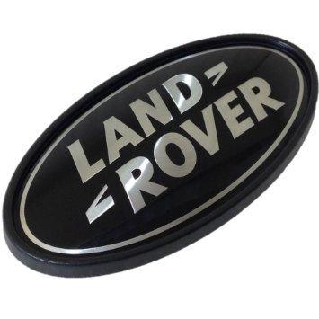 Znak Land Rover crno-sivi