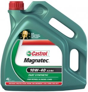 Motorno Ulje Castrol Magnatec 10w40 4L Diesel