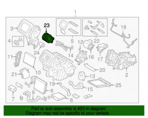 Motor vetilatora kabine
