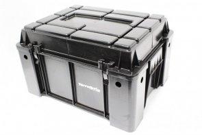 Kutija za skladistenje sa uzvisenim poklopcem