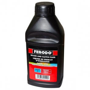 Ulje za kocnice i hidraulicna kvacila DOT4 Ferodo 0.50 L