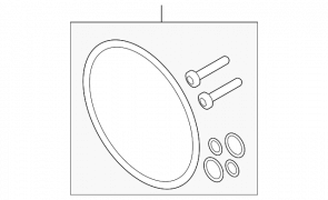 Set gumica za dihtovanje haldex -a