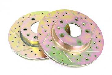 Prednji disk Freelander Drilled and grooved